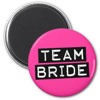 Team Bride Refrigerator Magnets