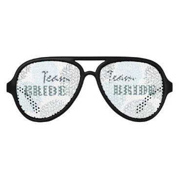 Beach Themed Team bride SHADES OF BLUE DAHLIA FLORAL PATTERN