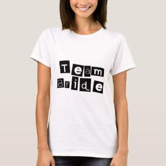 Team Bride (Sq Blk) T-Shirt