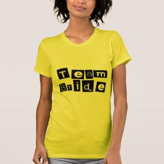 Team Bride Sq Blk Shirt