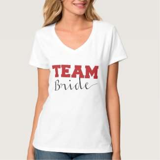 Team Bride T Shirts