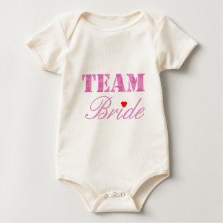 Team Bride Theme Baby Bodysuit