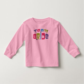 Team Bride Toddler T-shirt