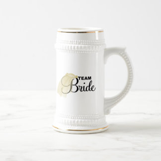 Team Bride (veil) Beer Stein