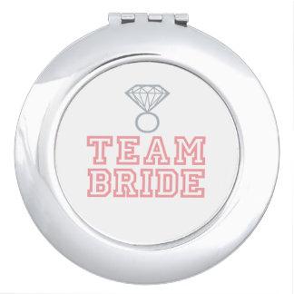 Team Bride Wedding Gift Vanity Mirror