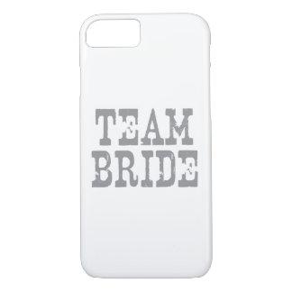 Team Bride Western Grey iPhone 7 Case