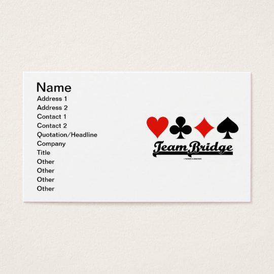 Team Bridge (Bridge Attitude Four Card Suits)