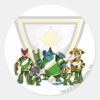 Team Brightvale Group Classic Round Sticker
