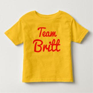 Team Britt Toddler T-shirt
