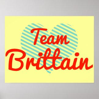 Team Brittain Posters
