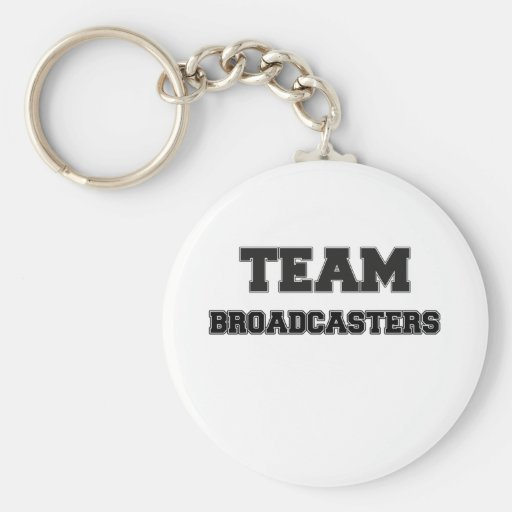 Team Broadcasters Key Chain