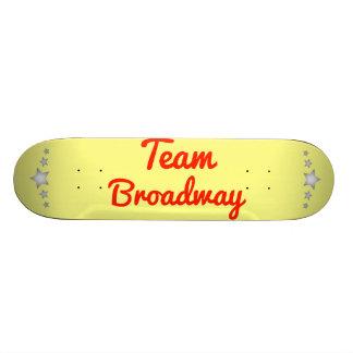 Team Broadway Custom Skate Board