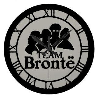 Team Bronte Large Clock