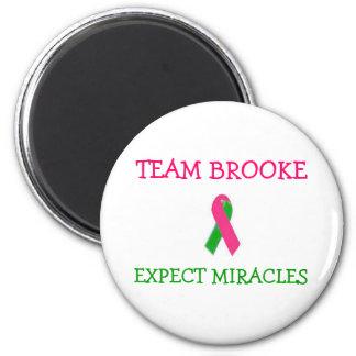 Team Brooke Ribbon Magnet