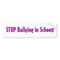 Team Bryson - Anti-Bullying bumper sticker 3