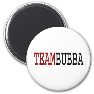 Team Bubba 2 Inch Round Magnet
