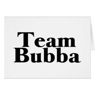 Team Bubba Redneck Greeting Card
