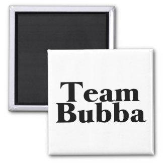 Team Bubba Redneck 2 Inch Square Magnet
