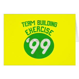 Team Building Exercise '99 Card