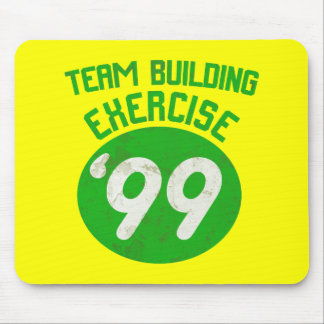 Team Building Exercise '99 Mouse Pad