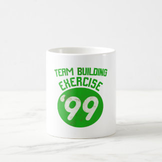 Team Building Exercise '99 Classic White Coffee Mug