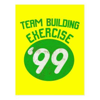 Team Building Exercise '99 Postcard