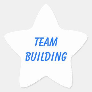 TEAM BUILDING STAR STICKER