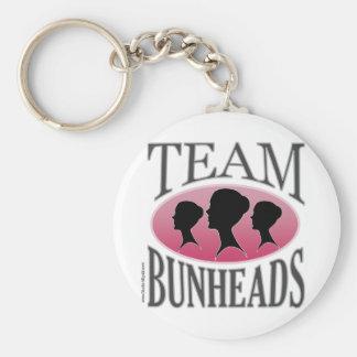 Team Bunheads (customizable) Basic Round Button Keychain