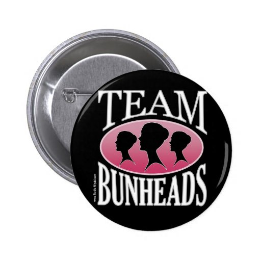 Team Bunheads (customizable) Pinback Button