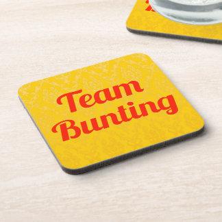 Team Bunting Coasters