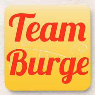 Team Burge Drink Coaster