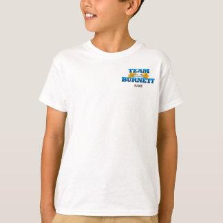 Team Burnett Kid's Shirt