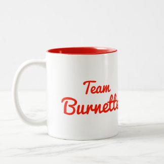 Team Burnette Coffee Mugs
