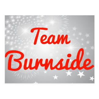 Team Burnside Postcard