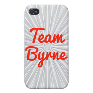 Team Byrne iPhone 4/4S Covers