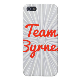 Team Byrnes iPhone 5 Cases