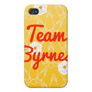 Team Byrnes Cover For iPhone 4