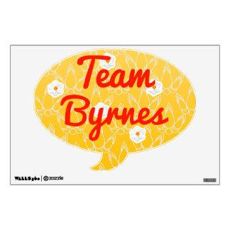 Team Byrnes Wall Decal