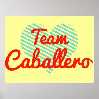 Team Caballero Print