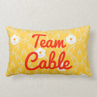 Team Cable Pillow