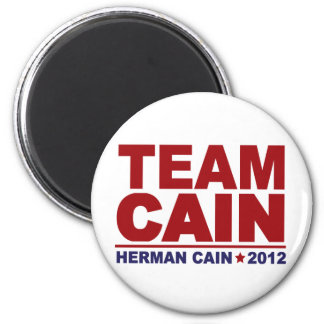 Team Cain 2012 Magnet