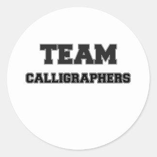 Team Calligraphers Sticker