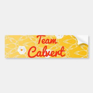 Team Calvert Car Bumper Sticker