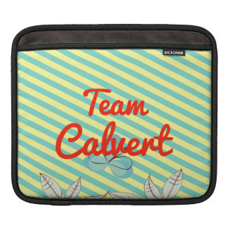 Team Calvert Sleeves For iPads