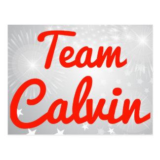 Team Calvin Postcard