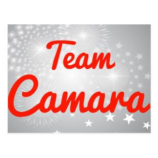 Team Camara Postcard