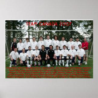 TEAM CANADA 2007 POSTER