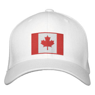 TEAM CANADA 2010 Dated Embroidered Baseball Cap