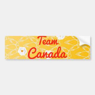 Team Canada Car Bumper Sticker