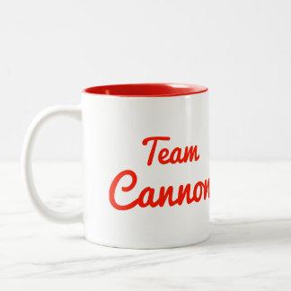 Team Cannon Two-Tone Coffee Mug